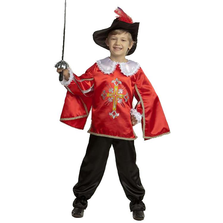 Новогодний костюм мушкетёра для мальчика