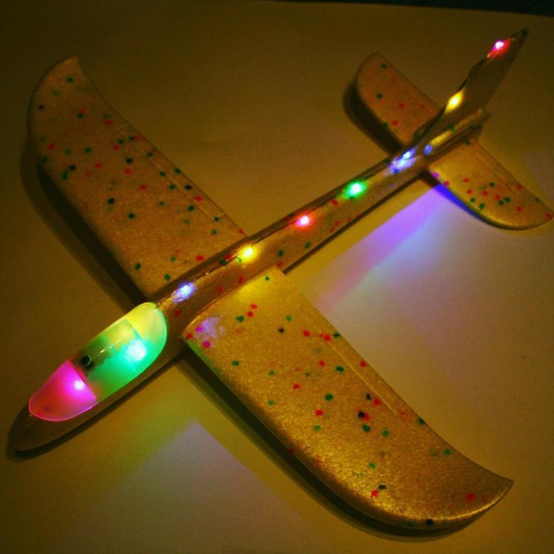 Самолет планер светящийся (кабина+борт)