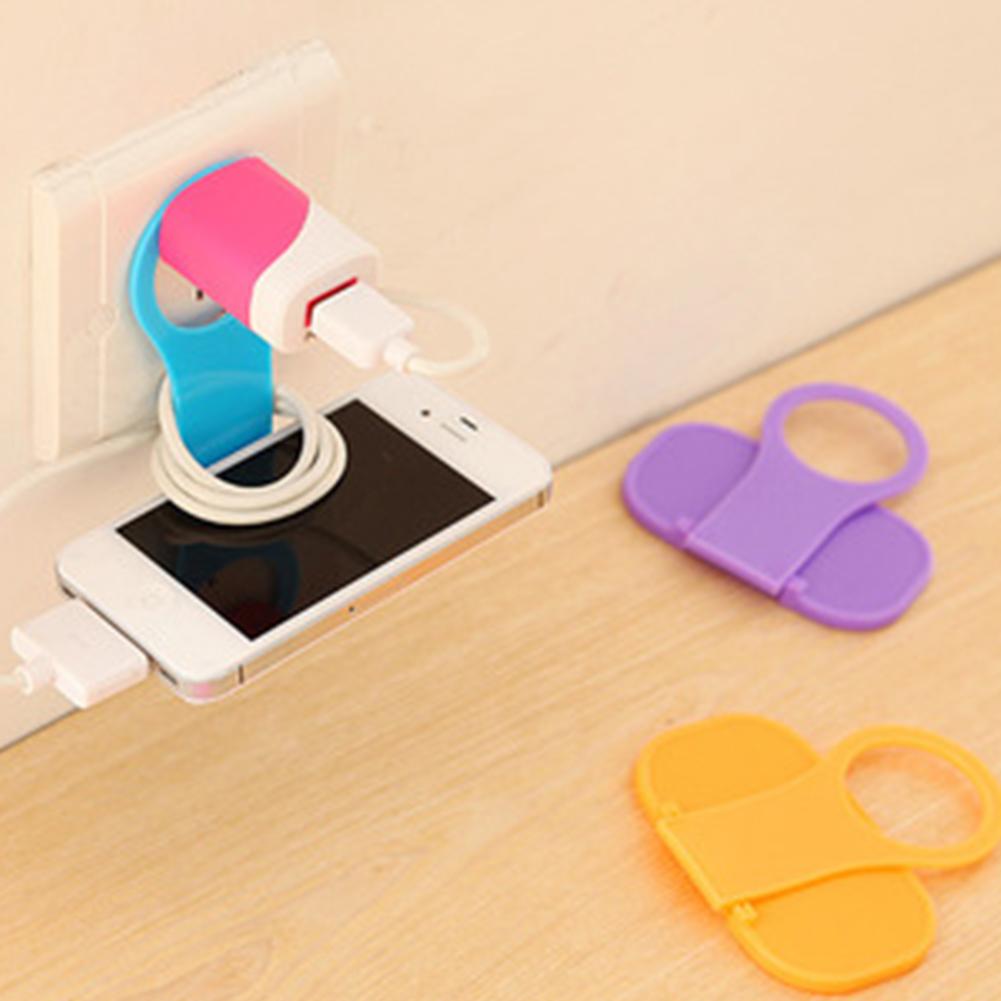 Подставка-держатель для зарядки телефона от розетки