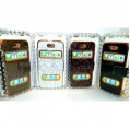 Чехол-книга для iphone 4-4S в платсиковом футляре