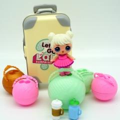 Кукла Лол в чемодане