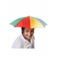 Складной зонт-шляпа на голову 35 см.