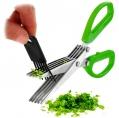 Ножницы для резки зелени (5 лезвий)