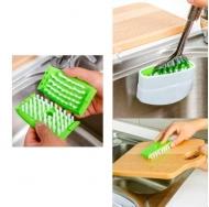 Щетка на липучке для столовых приборов Cutlery Clean'R