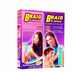 Инструмент для плетения косичек «Braid Х-press»